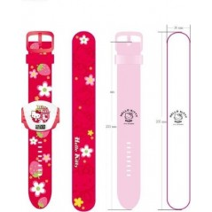 reloj hello kitty proyector