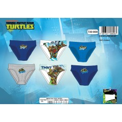Box of 3 slips Ninja Turtles 730-808