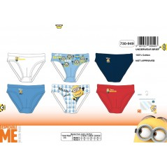 Box of 3 Minions briefs 730-949
