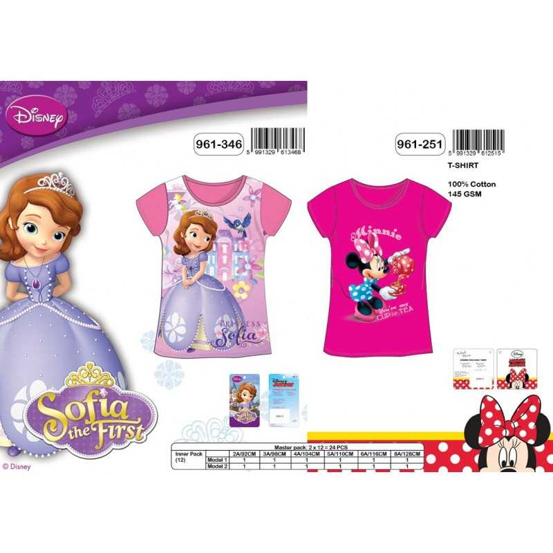 T-shirt Sofia et Minnie