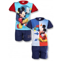 Mickey shorts and t-shirt
