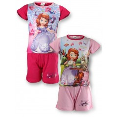 Sofia Disney shorts and T-shirt