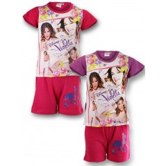 All shorts and T-shirt Violetta Disney