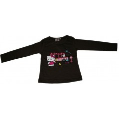 T-shirt a maniche lunghe Hello Kitty