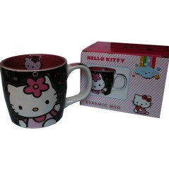 Hello Kitty ceramic oval mug