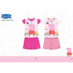 Peppa Pig short pajamas 830-294