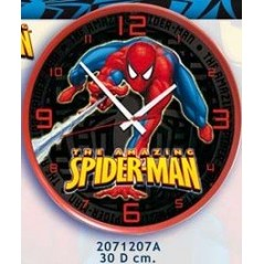 Spiderman wall clock