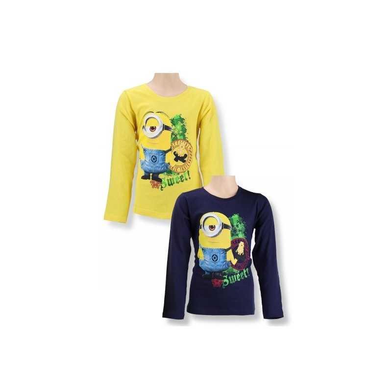 T-shirt manica lunga di Minions