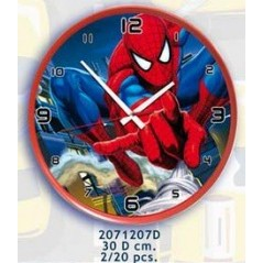 Reloj de pared Spiderman -d