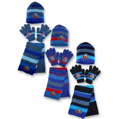 Set 3 pieces Avengers HAT + GLOVES + SCARF Avengers