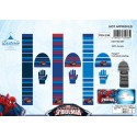 Set 3 Teile Spider-Man HUT + HANDSCHUHE + SCHAL Spider-Man