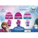 Set 2 pieces Frozen Disney hat and gloves The snow queen