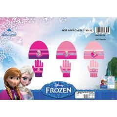 Zestaw 2 sztuk Frozen Disney Hat i rękawiczki The Snow Queen - 780-327