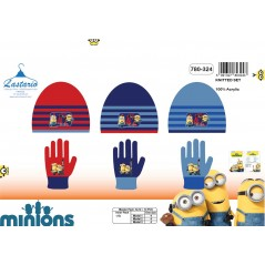 Minions gloves and hat set