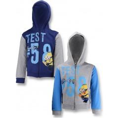 Minions hooded zipped sweatshirt