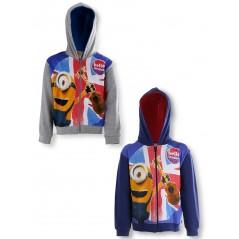 Minions hooded zipped sweatshirt - 990-579