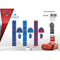 Set 3 Stück Motorhaube + Handschuhe + Schal Cars Disney 780-200