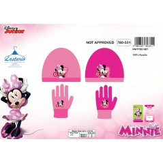 Set Minnie 2 pezzi di cappello e guanti Minnie