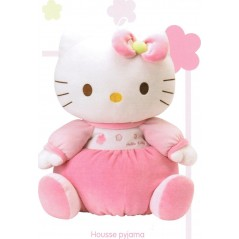 peluche hello kitty housse pyjama 40cm