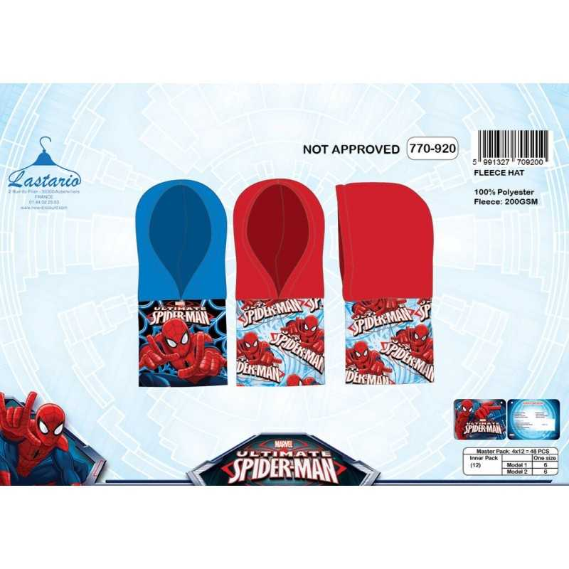 Cagoule Polaire Spiderman 770-920