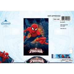 Plaid Fleece Spiderman 720-146