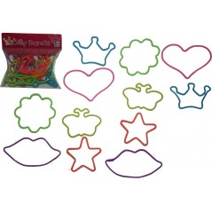 BLISTER DE 12PCS SILLY BANDS GLITZY