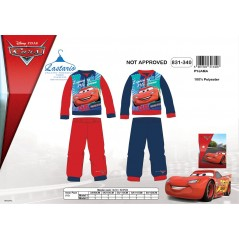 Cars long fleece pajamas - 831-340