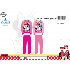Minnie Long Fleece Pajamas - 831-518
