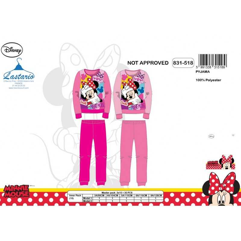 Pyjama polaire long Minnie - 831-518