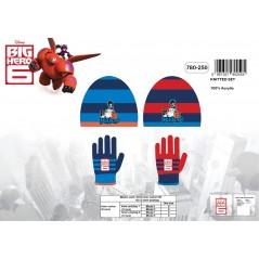 Disney Big Hero 6 Mütze + Handschuhe Set