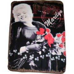Plaid polaire Marilyn Monroe