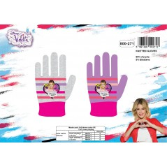 Disney Violetta gloves set