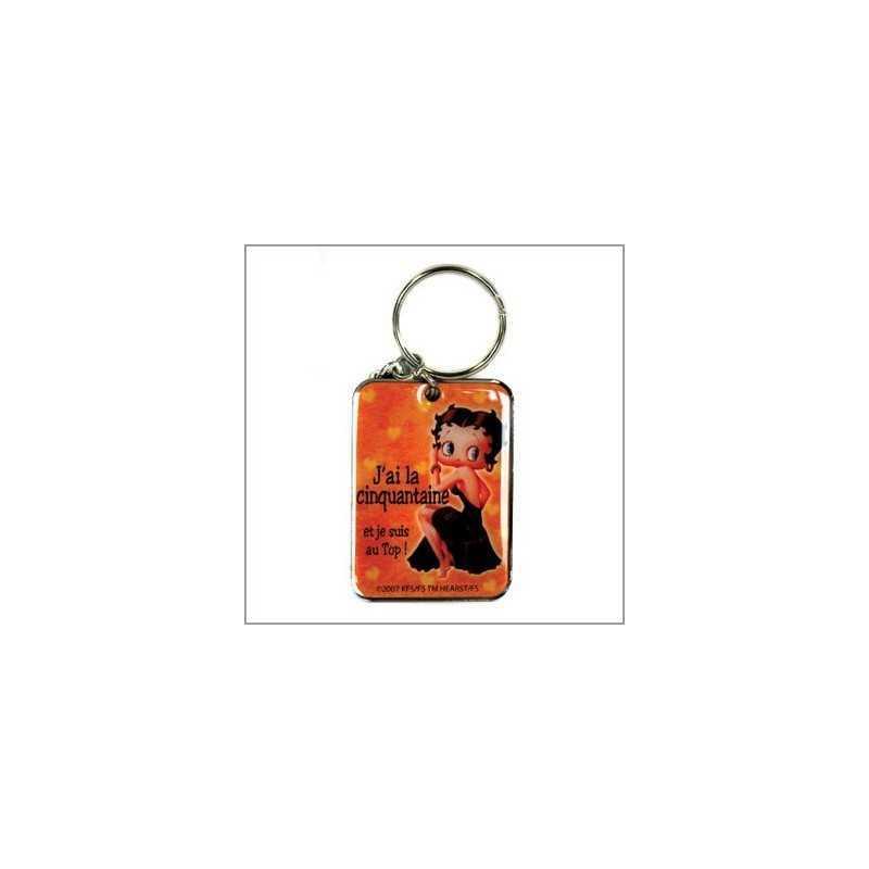 Porte clés métal Betty Boop