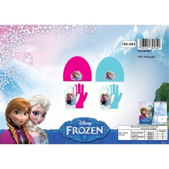 Bonnet + Gloves Fleece The Snow Queen 780-264