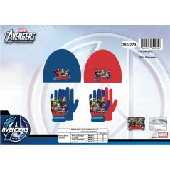 Bonnet + Guanti Avengers 780-279 Fleece