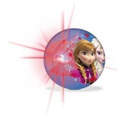 Balle rebondissante lumineuse Frozen