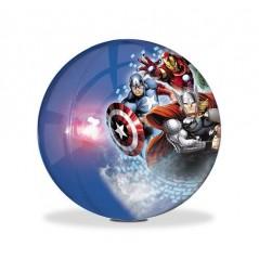 Balle rebondissante lumineuse Marvel
