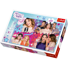 Puzzle Violetta Disney 100 pieces