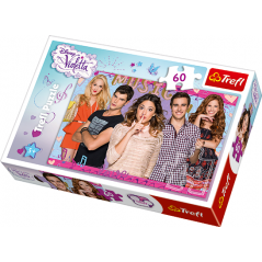 Puzzle 60 pieces Violetta Disney