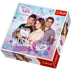 Puzzle Outline Violetta Love Music 200 pieces