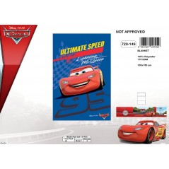 Plaid Fleece Disney Cars