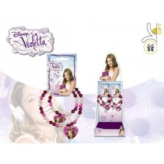 Display unit of 12 Bracelets Violetta Disney