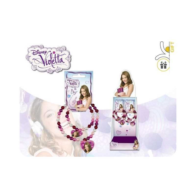 Display unit of 12 Bracelets Violetta Disney