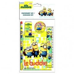 Stationery Set 5 pcs Minions