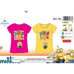 Short sleeves T-Shirt Minion - Girl