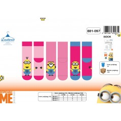 Chaussettes Minions Fille - 881-097