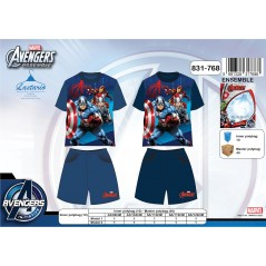 Ensemble Short + T-shirt Avengers