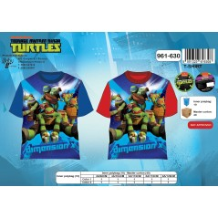 T-shirt manches courtes Tortues Ninja