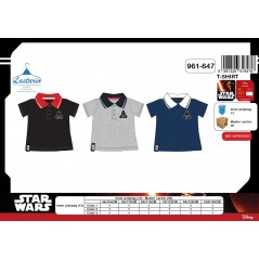 Short-Sleeved Polo Shirt Star Wars