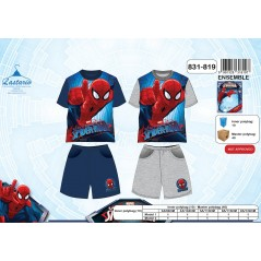 Ensemble T-Shirt + Short Spiderman
